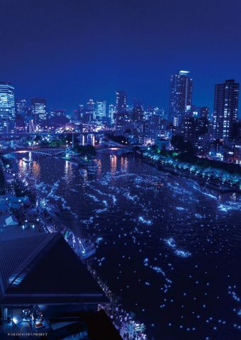 平成OSAKA天の川伝説《ナイトクルーズ・チケット》販売中!